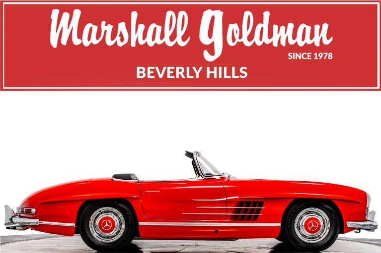 Used 1957 Mercedes-Benz 300SL Roadster for sale $1,165,900 at Marshall Goldman Beverly Hills in Beverly Hills CA