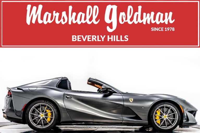 Used 2021 Ferrari 812 GTS for sale Call for price at Marshall Goldman Beverly Hills in Beverly Hills CA