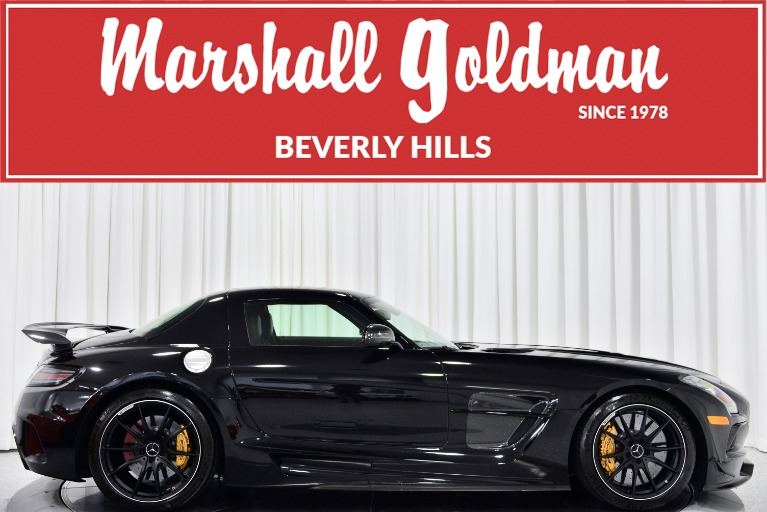 Used 2014 Mercedes-Benz SLS AMG Black Series for sale Call for price at Marshall Goldman Beverly Hills in Beverly Hills CA