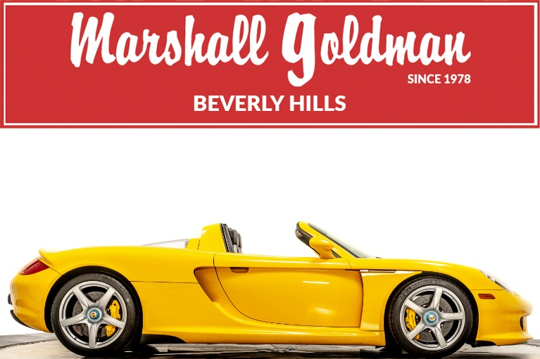 Used 2005 Porsche Carrera GT for sale $1,485,900 at Marshall Goldman Beverly Hills in Beverly Hills CA
