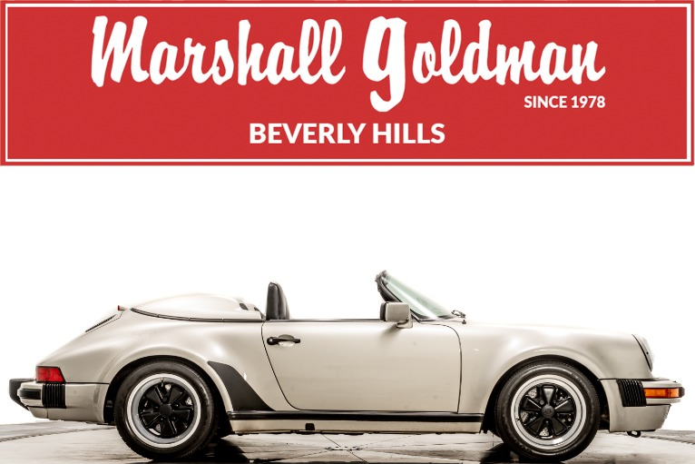 Used 1989 Porsche 911 Speedster for sale $285,900 at Marshall Goldman Beverly Hills in Beverly Hills CA