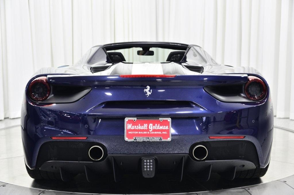 Used 2018 Ferrari 488 Spider 70th Anniversary For Sale Sold Marshall Goldman Beverly Hills Stock B20434