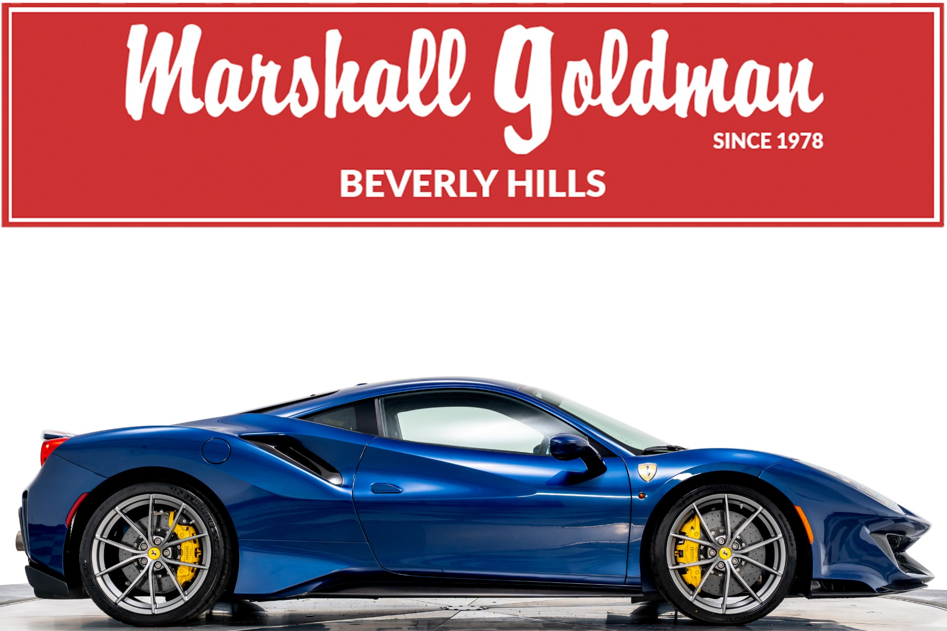 Used 2020 Ferrari 488 Pista For Sale Sold Marshall Goldman Beverly Hills Stock B20700