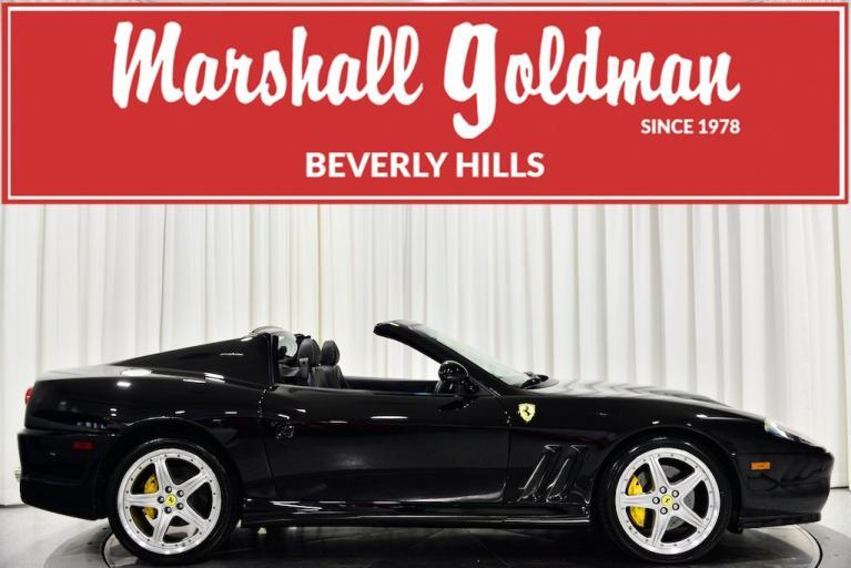Used 2005 Ferrari 575 Superamerica for sale $288,900 at Marshall Goldman Beverly Hills in Beverly Hills CA