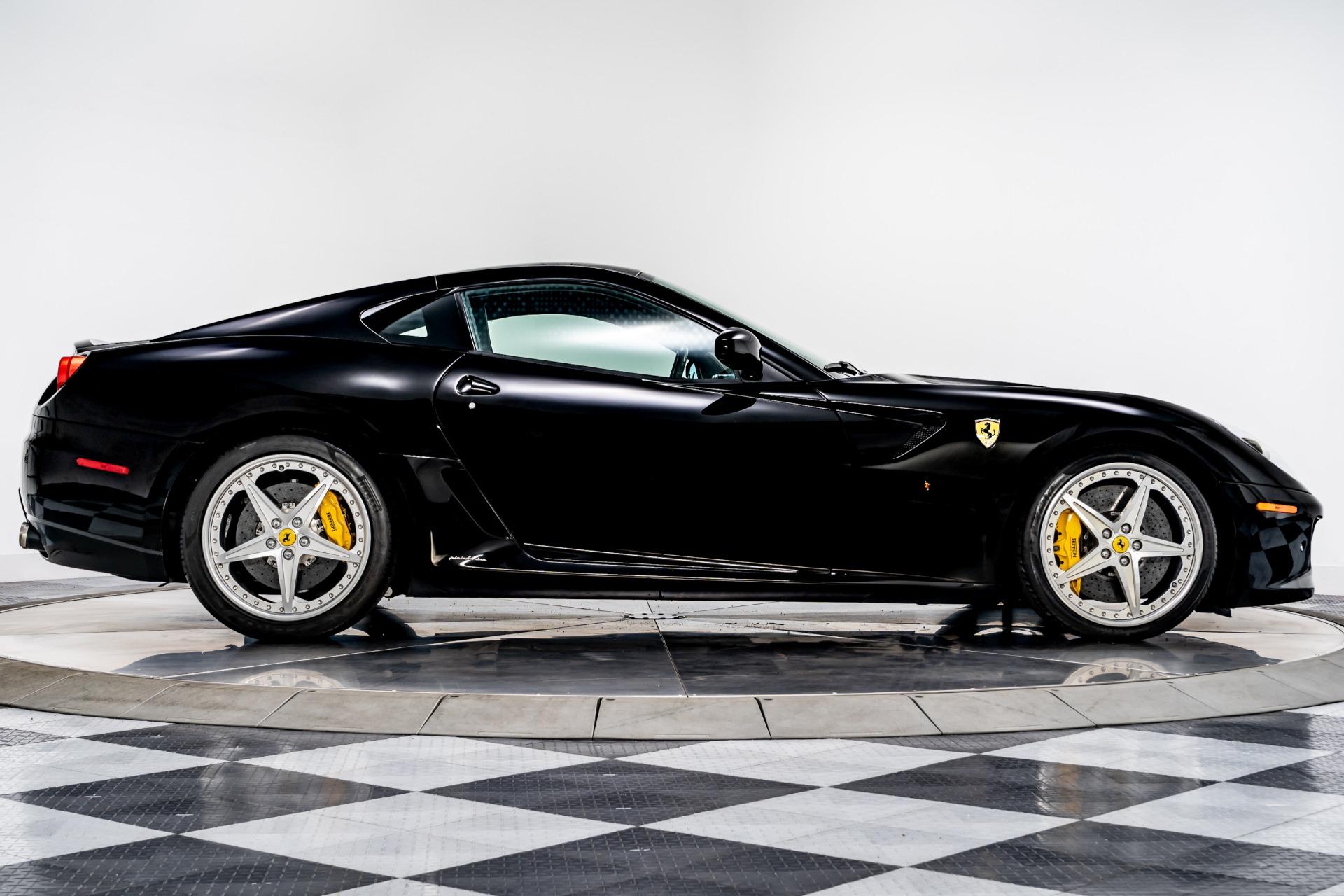 Used 2010 Ferrari 599 Gtb Fiorano Hgte For Sale Sold Marshall Goldman Beverly Hills Stock W20904