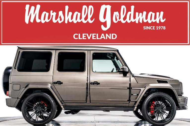 Used 2017 Mercedes-Benz G65 AMG Brabus for sale $159,900 at Marshall Goldman Beverly Hills in Beverly Hills CA