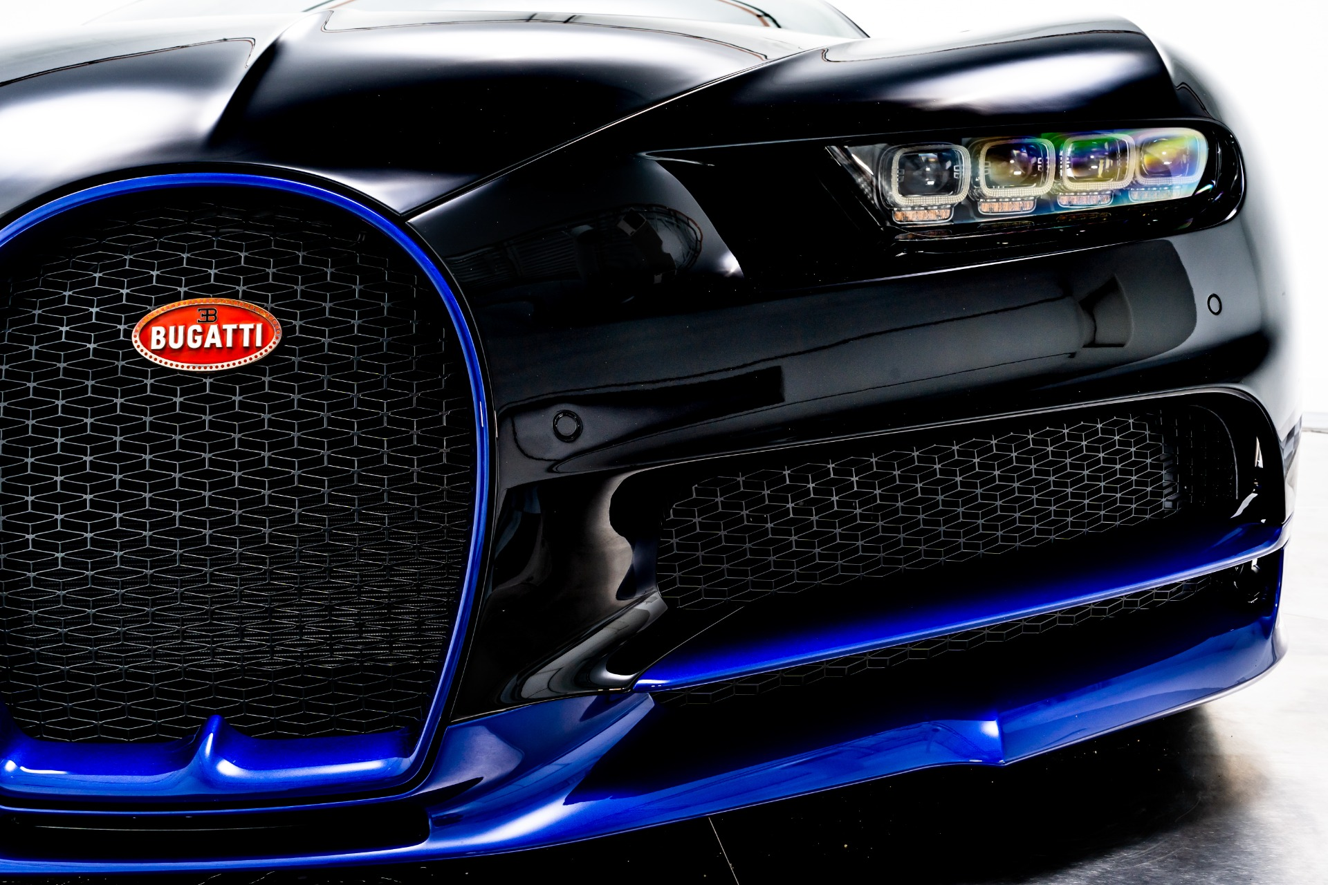 Used 2019 Bugatti Chiron For Sale Sold Marshall Goldman Beverly Hills Stock B21820