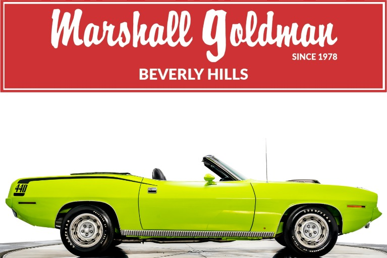 Used 1970 Plymouth Cuda Convertible for sale $199,900 at Marshall Goldman Beverly Hills in Beverly Hills CA