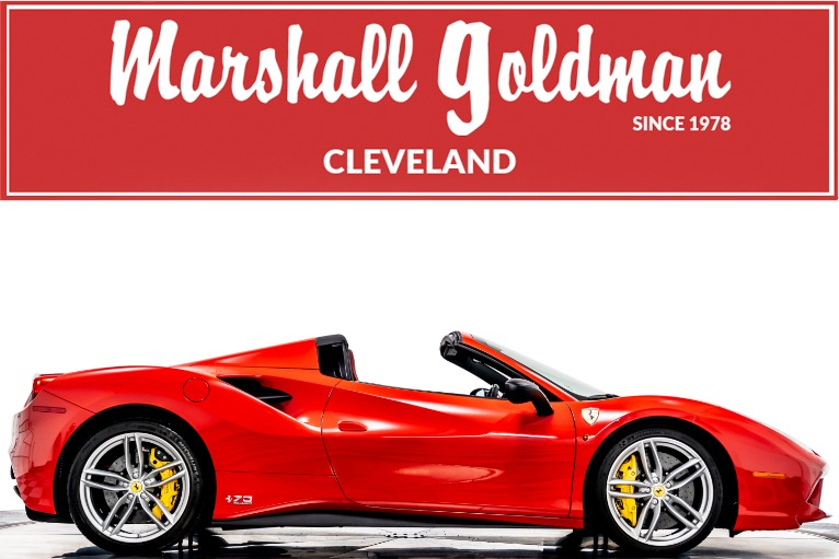 Used 2018 Ferrari 488 Spider 70th Anniversary for sale $369,900 at Marshall Goldman Beverly Hills in Beverly Hills CA
