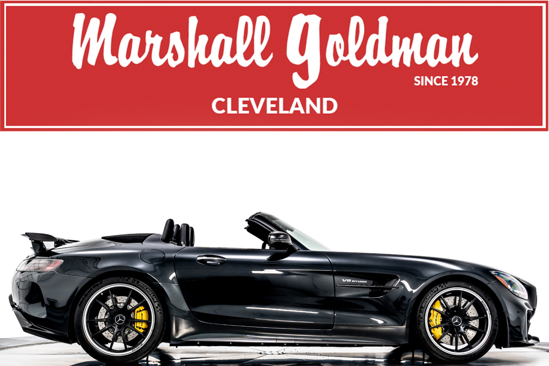 Used 2020 Mercedes Benz Amg Gt R Roadster For Sale Sold Marshall Goldman Beverly Hills Stock W21102