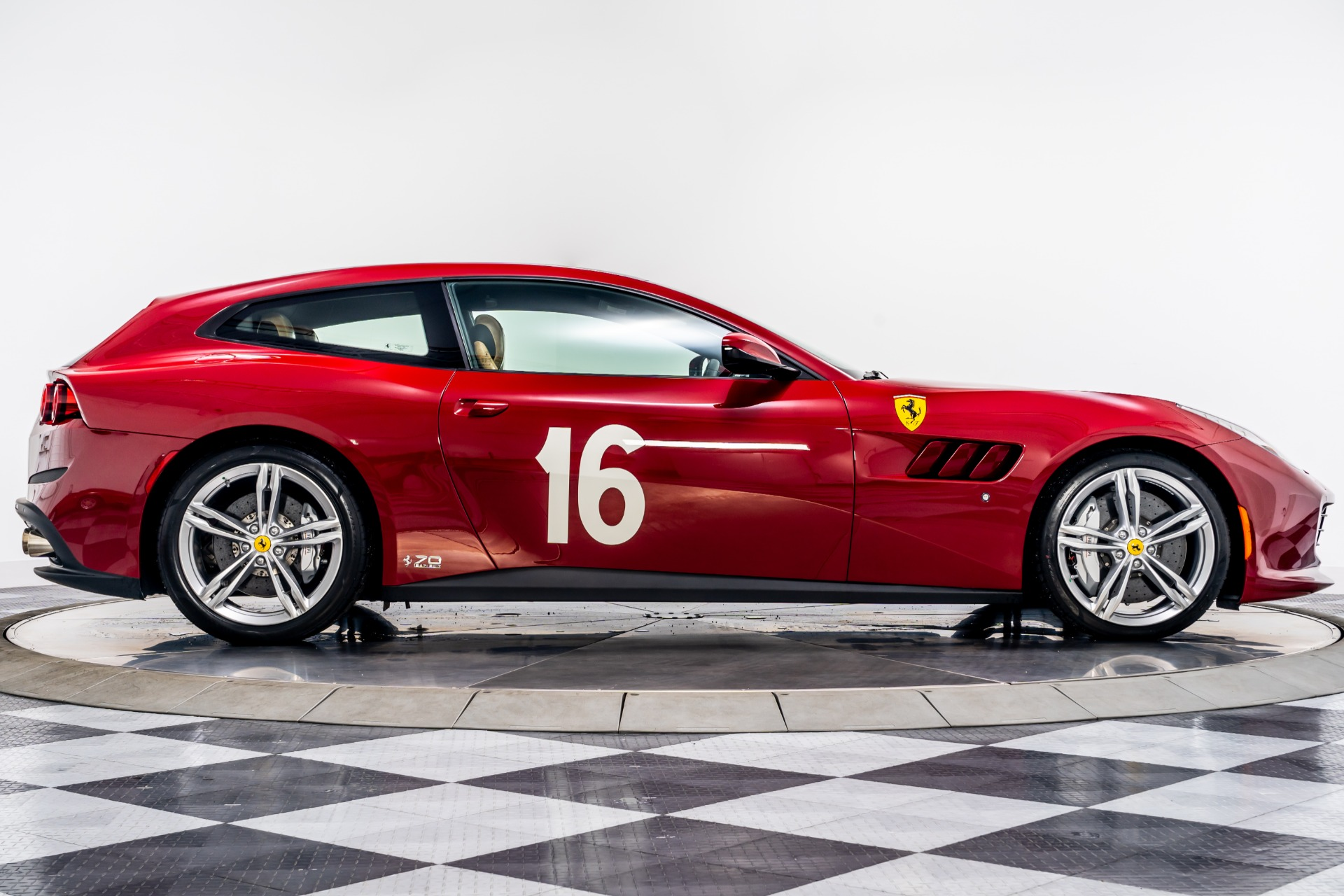 Used 2018 Ferrari Gtc4lusso 70th Anniversary For Sale Sold Marshall Goldman Beverly Hills Stock Lusso70th