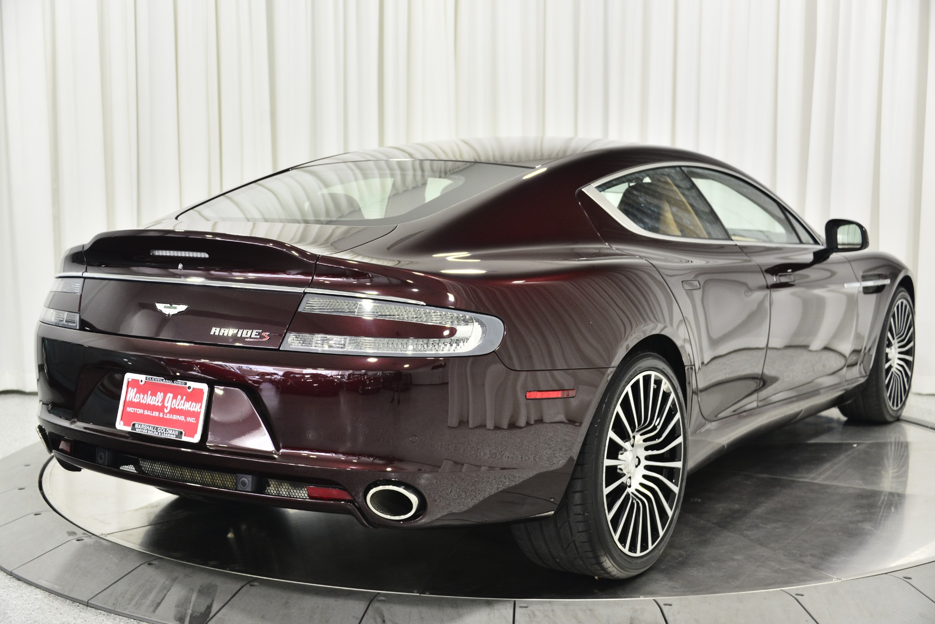 Used 2016 Aston Martin Rapide S For Sale Sold Marshall Goldman Beverly Hills Stock B21138
