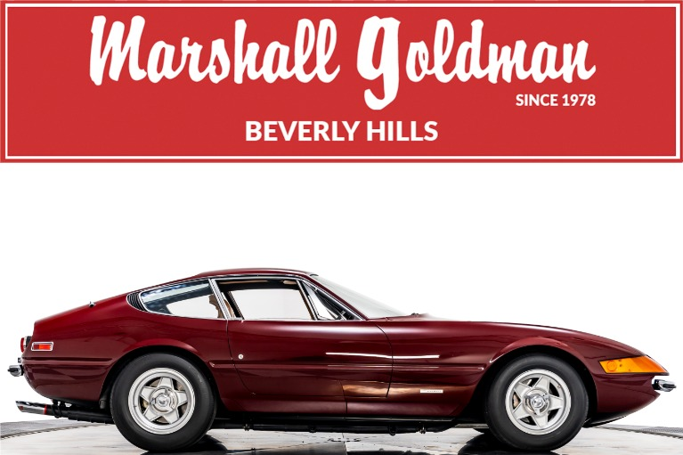 Used 1972 Ferrari 365 GTB/4 Daytona for sale Call for price at Marshall Goldman Beverly Hills in Beverly Hills CA