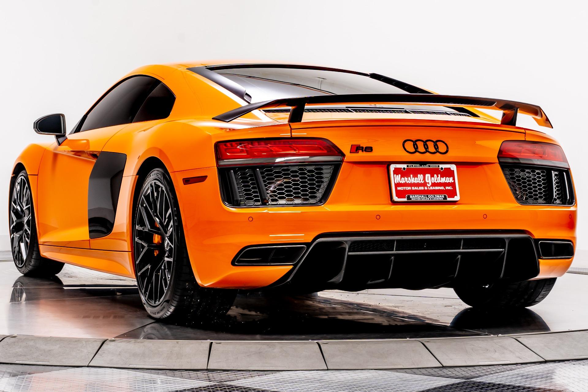 Used 2018 Audi R8 V10 Plus For Sale 174 900 Marshall Goldman Beverly Hills Stock W21356
