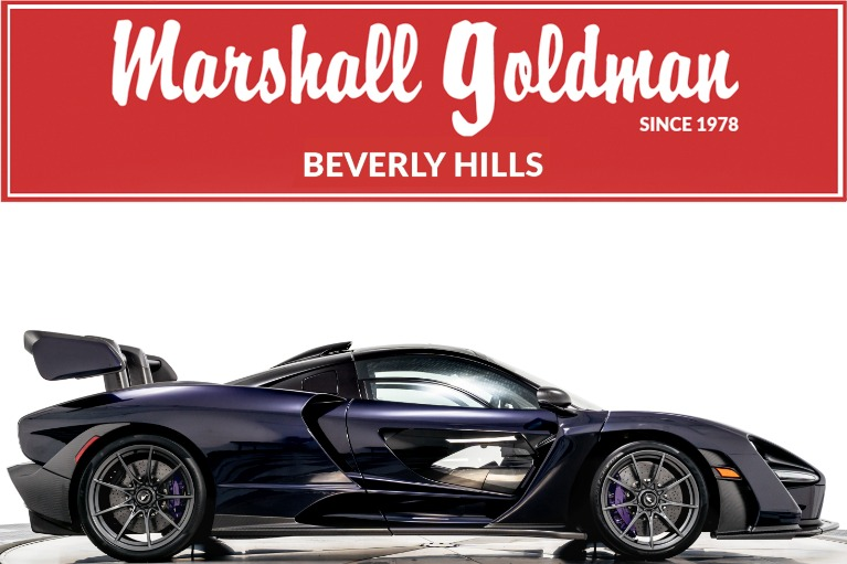 Used 2019 McLaren Senna for sale $1,185,900 at Marshall Goldman Beverly Hills in Beverly Hills CA